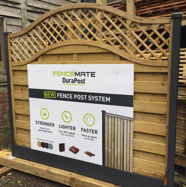 Durapost - A new lightweight fence post system